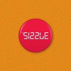 Calculator Word – Sizzle Button Badge
