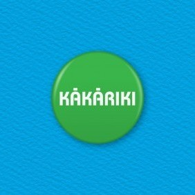 Kakariki (Green) - Te Reo Maori Colour Button Badge