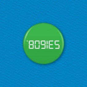 Calculator Word – Bogies Button Badge