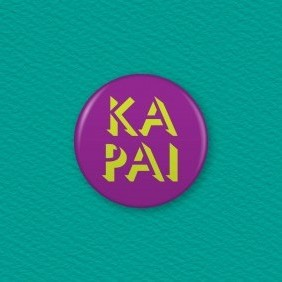 Ka Pai Button Badge