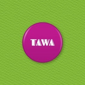 Tawa (Purple) - Te Reo Maori Colour Button Badge