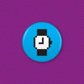 Mac Watch Icon Button Badge