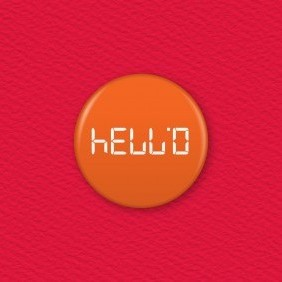 Calculator Word – Hello Button Badge